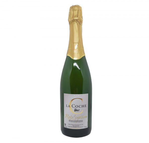Méthode traditionnelle - vin effervescent - Brut - Retz'ception