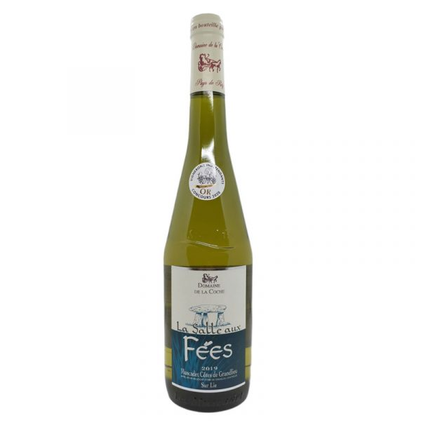 Muscadet Côtes de Grand Lieu sur Lie - La Salle aux Fées 2020